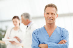 Only the best medical treatment. Portrait of a smart mature male Stock Image