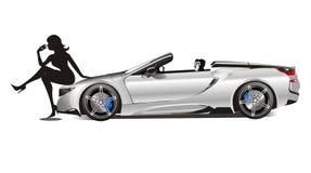 Best Men Sport Car 2018 vector illustration