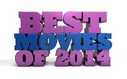 Best movies of 2014 Stock Photography