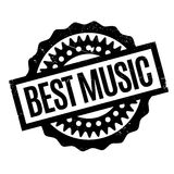 Best Music rubber stamp Royalty Free Stock Images