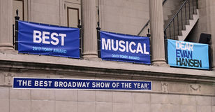 Best Musical Of The Year Royalty Free Stock Image