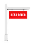 Best offer banner Royalty Free Stock Images