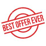 Best Offer Ever rubber stamp Royalty Free Stock Images
