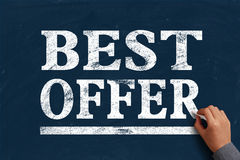 Best Offer royalty free stock images