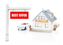 Best offer for house Stock Images