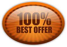 Best offer icon Stock Photos