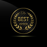 Best offer icon Stock Images