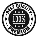 Best offer logo icon, simple style. Best offer logo. Simple illustration of best offer logo for web stock illustration