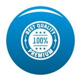 Best offer logo icon blue vector. Best offer logo. Simple illustration of best offer vector logo for web Stock Photos