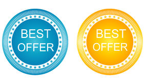 Best Offer  Vector Icon Design Royalty Free Stock Photos