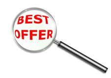 Best Offer words  Stock Photos