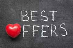Best offers Stock Photo