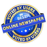 Best Online Newspaper. Voted by Users. Stock Photo