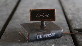 Best online universities idea stock footage