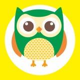 Best owl. A fun little owl illustration Royalty Free Stock Photo