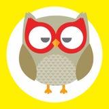 Best owl. A fun little owl illustration Royalty Free Stock Photos