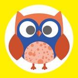 Best owl. A fun little owl illustration Stock Image