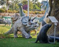 The best park of living and extinct creatures in Israel royalty free stock images