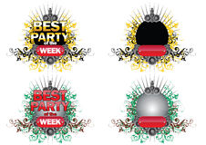 Best_party_ Royalty Free Stock Photos