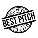 Best Pitch rubber stamp Royalty Free Stock Image
