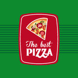 The best pizza Royalty Free Stock Photography