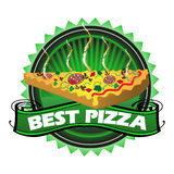Best pizza Royalty Free Stock Image