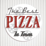 Best pizza in town Stock Images
