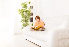 Best place to read a book Royalty Free Stock Photos