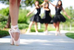 Best Pointe Forward Royalty Free Stock Photography