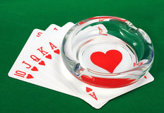 Best Poker Hand Royalty Free Stock Images