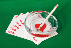 Best Poker Hand Royalty Free Stock Image