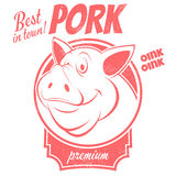 Best pork sign Stock Images