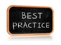 Best practice Royalty Free Stock Image