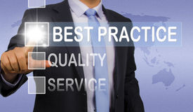 Best practice Royalty Free Stock Photos