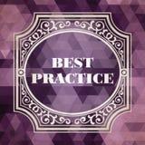 Best practice. Cenni storici d'annata. Royalty Illustrazione gratis