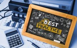Best practice concept Stock Images