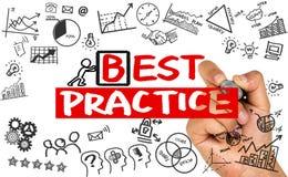 Best practice concept Stock Image
