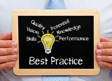 Best practice concept Royalty Free Stock Images