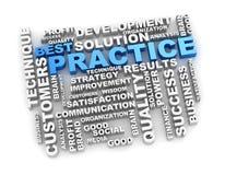 Free Best Practice Crossword Royalty Free Stock Photography - 51861457