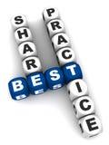 Best practice della parte Fotografie Stock