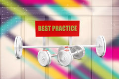 Best practice gym concept Illustration Stock Photos