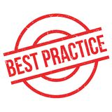 Best Practice rubber stamp Royalty Free Stock Photo