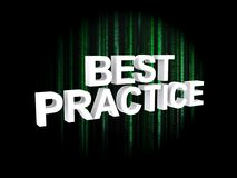 Best practices Stock Photo
