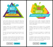 Best Premium Fantastic Offer, Website Allows Order Royalty Free Stock Photography