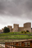 The best preserved medieval walls Royalty Free Stock Photos