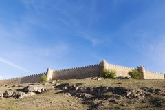 The best preserved medieval walls Stock Photo