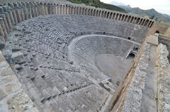 Theatre of Aspendos Stock Image