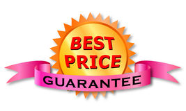 Best Price's label Stock Images