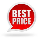 Best price badge concept illustration Royalty Free Stock Images
