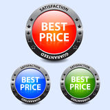 Best Price Badges Royalty Free Stock Photography